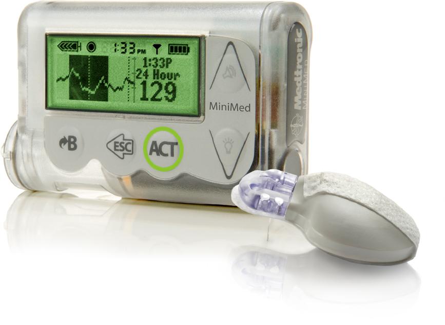 Mini Med 530G with sensor