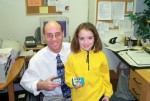 Gary Scheiner with insulin pump user