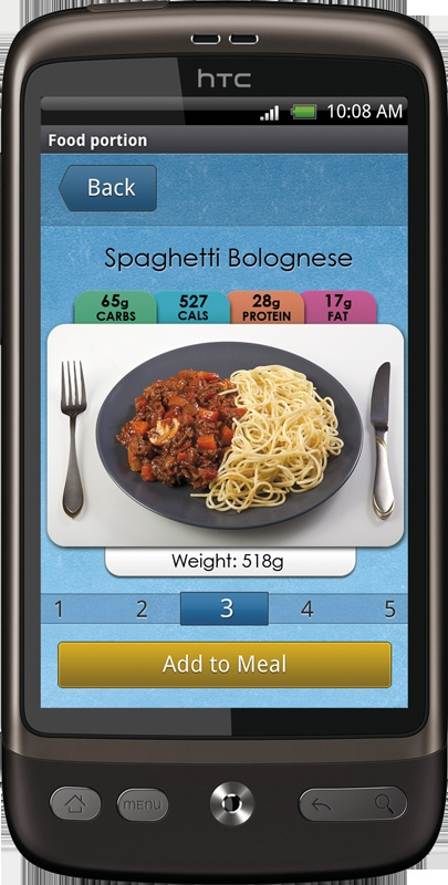 Carbs & Cals nutrition app