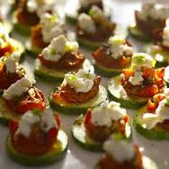 crab canape photo