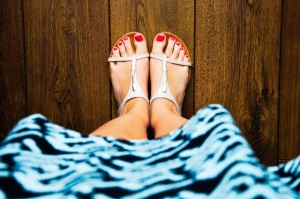 how to have healthy feet living with diabetes