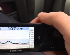 dexcom for J marathon