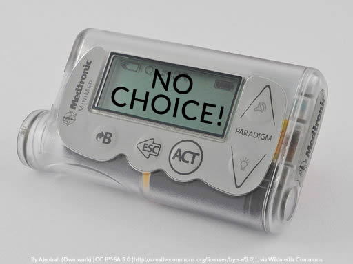 United Healthcare decision to limit coverage for insulin pumps to