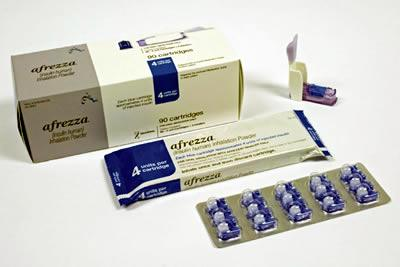Afrezza cartridges