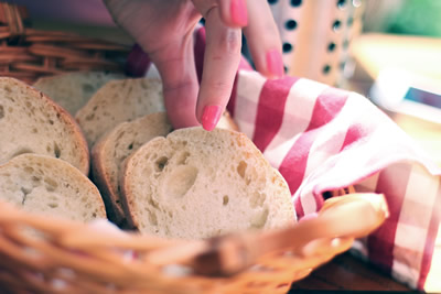 control intake of bread