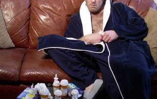how to cope with the flu and diabetes