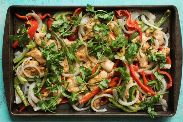 Sheet Pan Fajitas recipe for diabetics