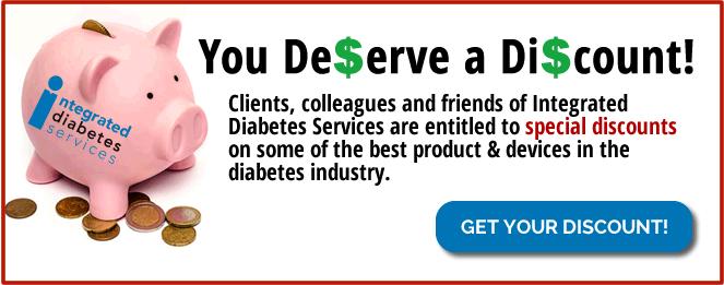 discounts on diabetes supplies
