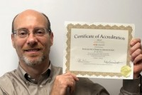 aade accreditation gary with certificate