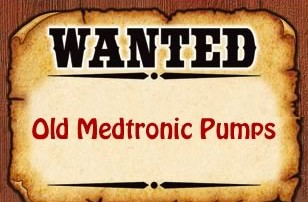 wanted: old medtronic pumps