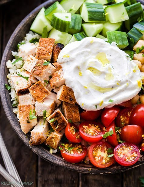 Chicken Shawarma Bowls photo by reciperunner