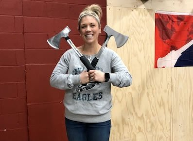 axe throwing kristen