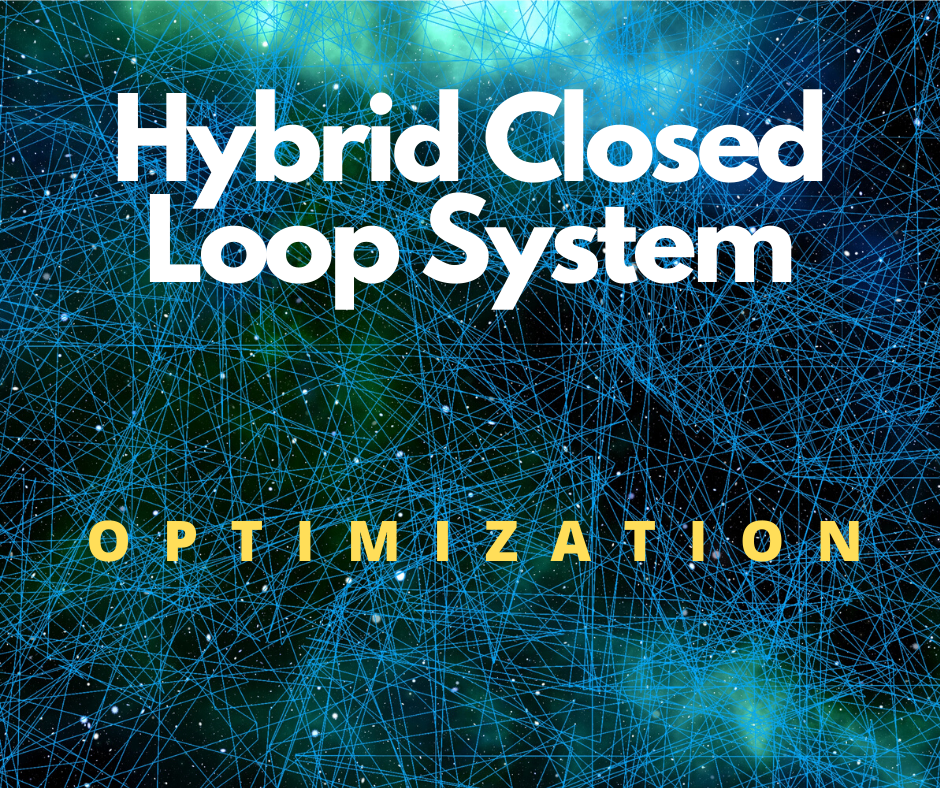 hybrid closed loop system optimization