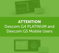 dexcom g4 & g5 discontinued