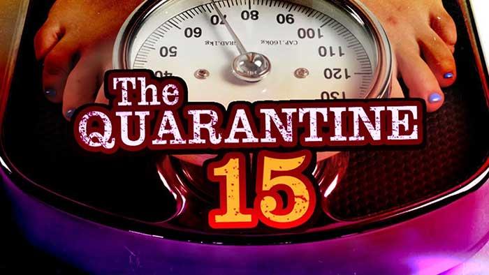 weight gain over quarantine