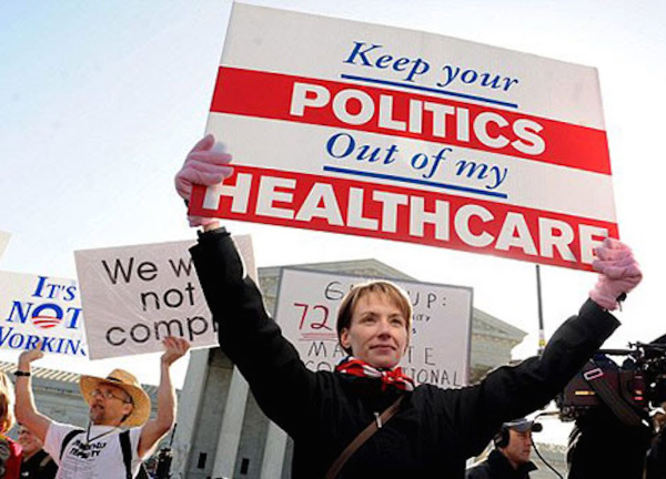 politics and healthcare